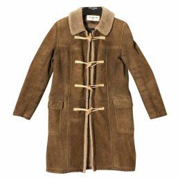 Shearling dufflecoat