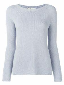 'S Max Mara cashmere knit sweater - Blue
