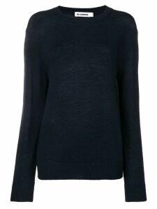 Jil Sander round neck sweater - Blue