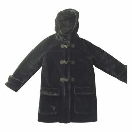 Blue Synthetic Coat