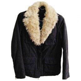 Anthracite Cotton Coat