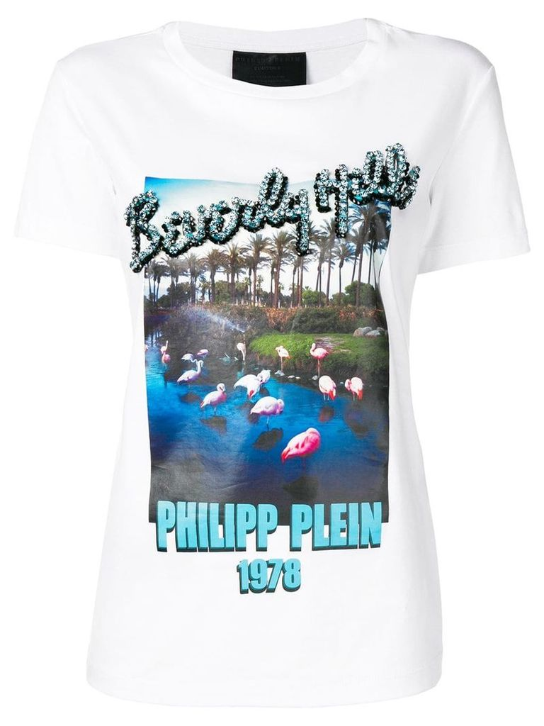 Philipp Plein Beverly Hills T-shirt - White
