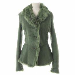 Leather coat