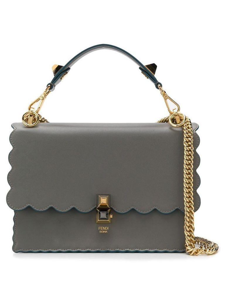 Fendi Kan I scalloped bag - Grey