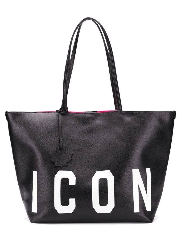 Dsquared2 Icon shoulder bag - Black