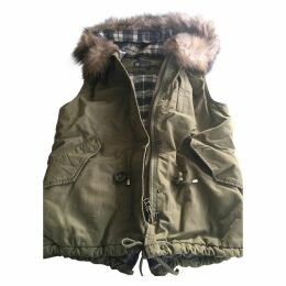 Khaki Cotton Coat