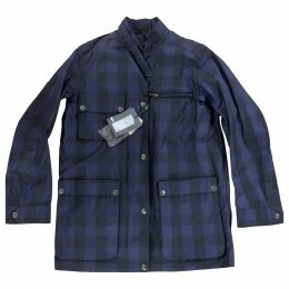 Purple Cotton Coat