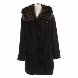 Multicolour Fur Coat