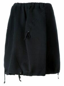 Comme Des Garçons Pre-Owned drawstring detail cocoon skirt - Black