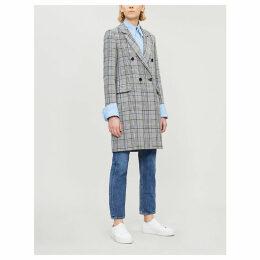 Gabon wool-blend coat