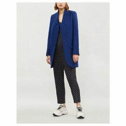 Bryce wool-twill coat