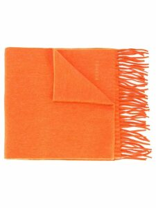 Hermès Pre-Owned cashmere scarf - Orange
