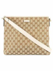 Gucci Pre-Owned GG pattern shoulder bag - Neutrals