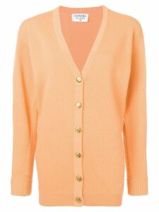 Chanel Pre-Owned 1990's knitted cardigan - Orange