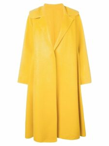 Oscar de la Renta oversized fit coat - Yellow