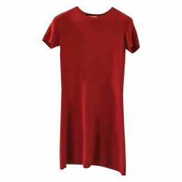 Cashmere mid-length dress