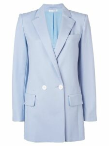 Oscar de la Renta double-breasted blazer - Blue