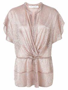 Iro draped top - Pink