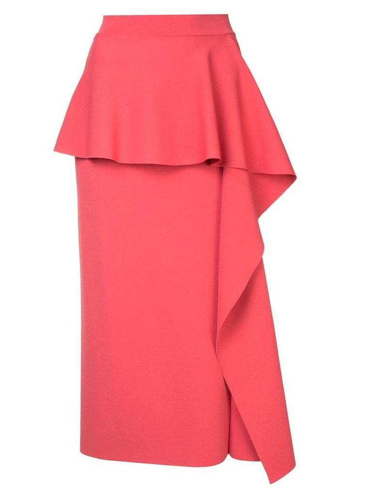 Stella McCartney ruffled skirt - Pink