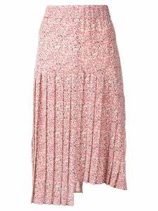 Isabel Marant Inaya printed midi skirt - Pink