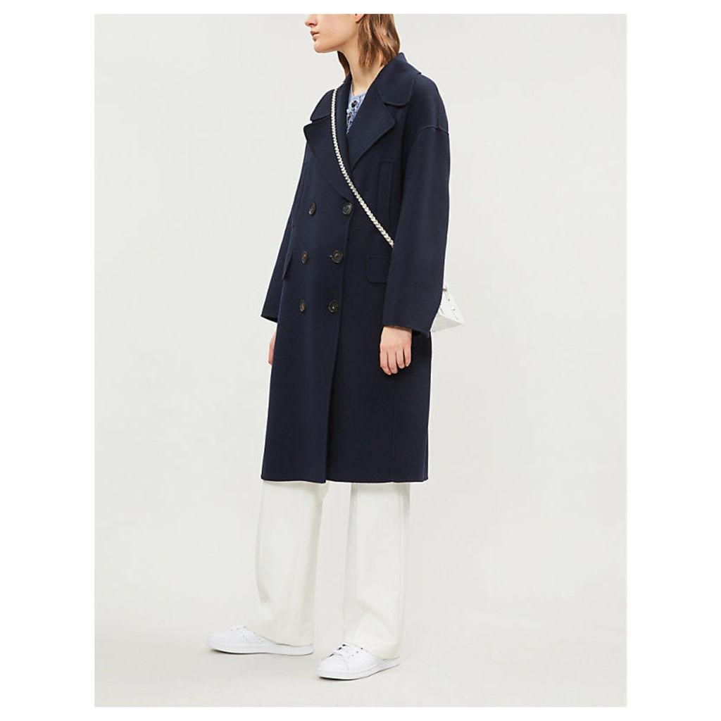 Caban wool coat