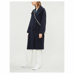 Caban wool coat