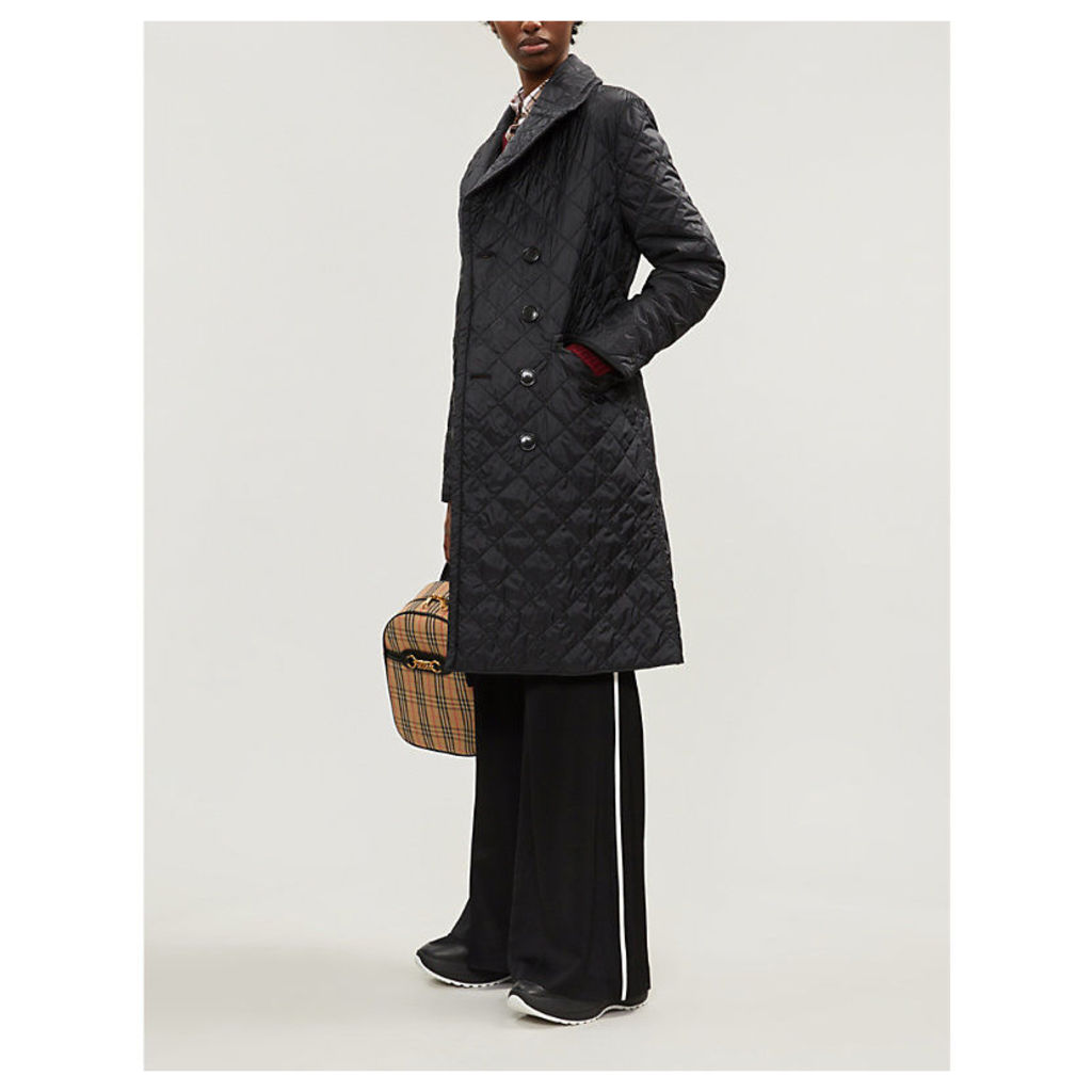 Horberie quilted shell coat