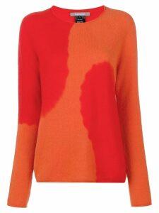Suzusan round neck jumper - Orange