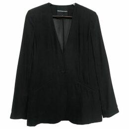 Silk blazer