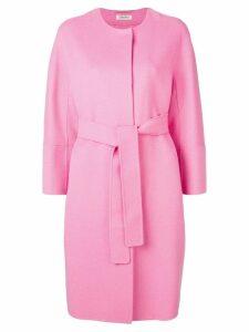 'S Max Mara belted midi coat - Pink
