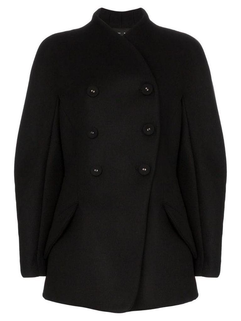 Proenza Schouler Double Breasted Sculpted Jacket - Grey