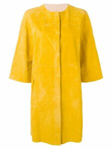 Drome reversible leather coat - Yellow