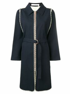 See By Chloé belted coat - Black