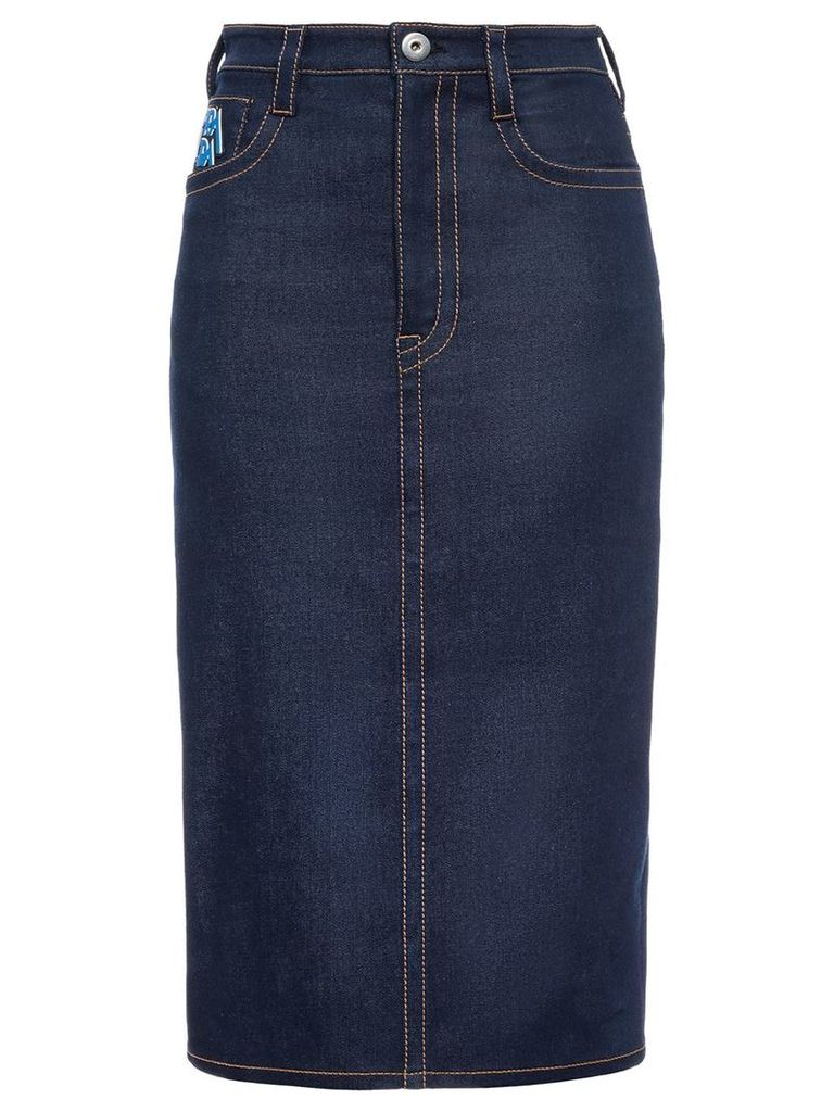 Prada Raw denim skirt - Blue