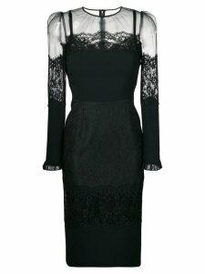 Dolce & Gabbana lace midi dress - Black
