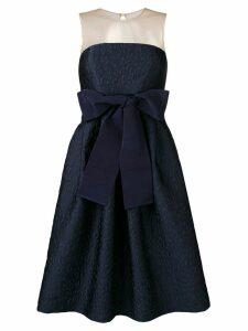 P.A.R.O.S.H. bow detail dress - Blue