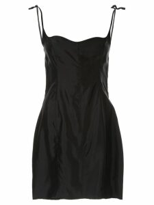 Georgia Alice corset mini dress - Black