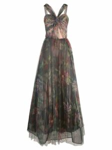 Patbo floral tulle dress - Multicolour