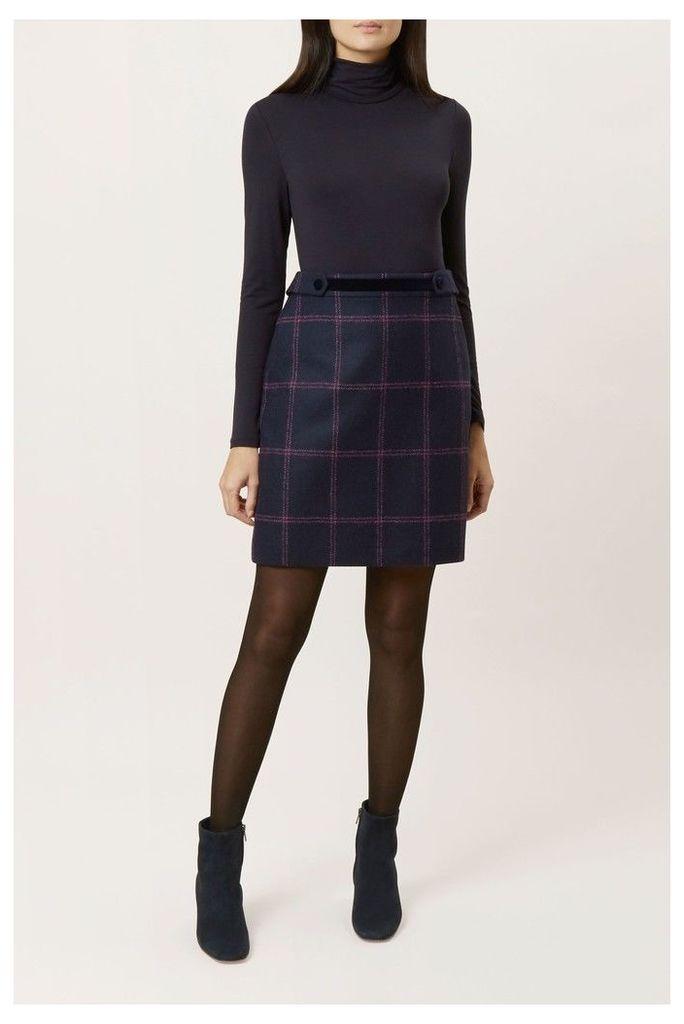 Womens Hobbs Blue Riley Skirt -  Blue