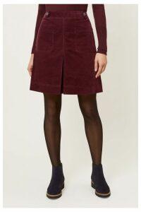 Womens Hobbs Red Valerie Skirt -  Red