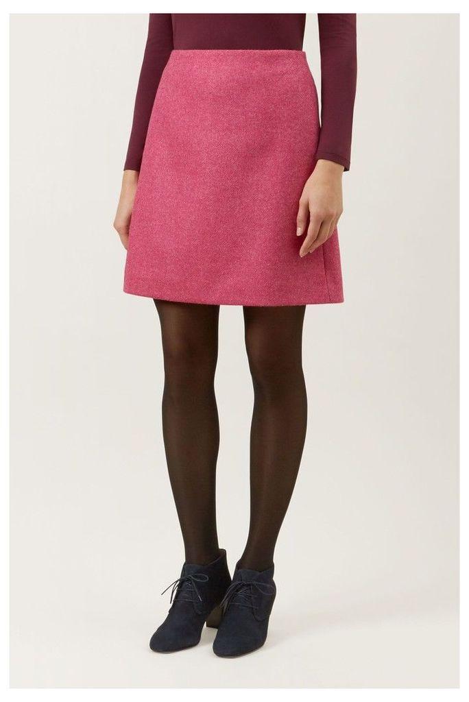 Womens Hobbs Pink Elea Skirt -  Pink