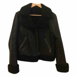 Leather caban