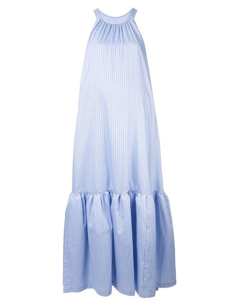 3.1 Phillip Lim long striped tent dress - Blue