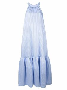 3.1 Phillip Lim Striped Tented Maxi Dress - Blue