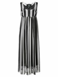 Marc Jacobs striped midi dress - Black