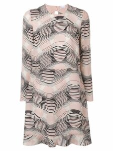 Red Valentino printed swing dress - Neutrals