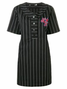Love Moschino sequin embellished T-shirt dress - Black