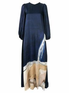 Aje Somerset gown - Blue