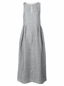 Fabiana Filippi long sleeveless dress - Grey