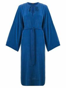 Joseph belted dress - Blue